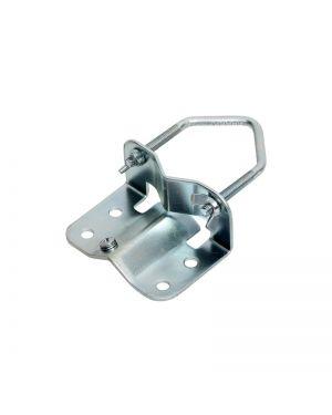 Mastfußschelle - g-verzinkt, Platte 3mm