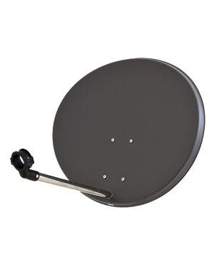 Micro Spiegel 57 cm Stahl/Stahl anthrazit