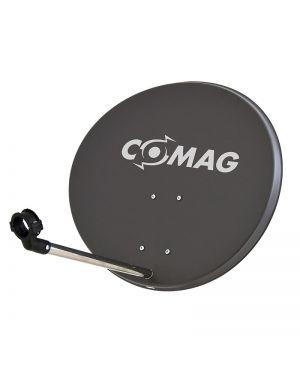Comag 57cm Antenne Stahl/Stahl anthrazit mit Aufdruck