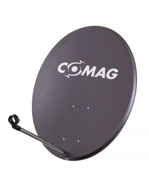 Comag 80 cm Antenne Stahl/Stahl anthrazit mit Aufdruck