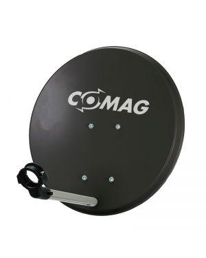 Comag 40 cm Antenne Stahl/Plastik anthrazit mit Aufdruck