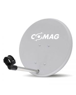 Comag 40 cm Antenne Stahl/Plastik hellgrau mit Aufdruck