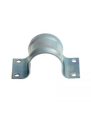 Mastschelle Stahl 60 mm - g-verzinkt, Platte 3mm